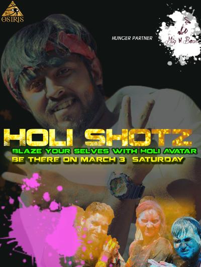 Osiris Events Presents Holi Shotz