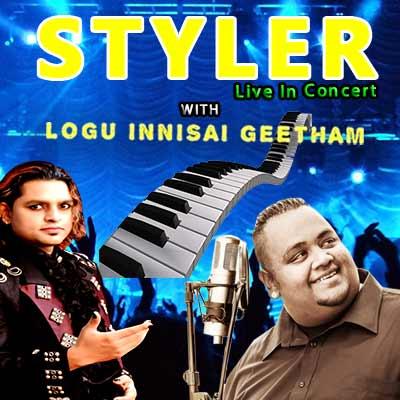 South African Indian Origin Musical Sensation Deshan Styler Naidoo and Siyanda Mlaba Live performance in Chennai! Styler and Chennai