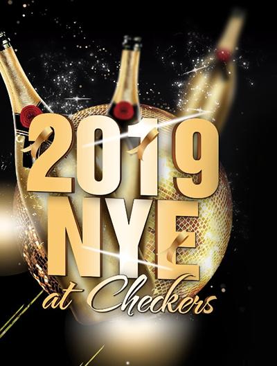2019 NYE AT CHECKERS