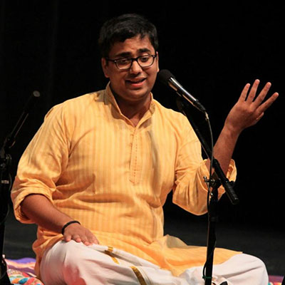 MUDHRA presents 24th FINE ARTS FESTIVAL on 21-12-2018 performing LBharat Sundar - Vocal Mysore Nagaraj - Violin Srimushnam Raja Rao- Mridangam Giridhar Udupa - Ghatam at 6.15pm.  Infosys Hall, Ramakrishna Mission School Campus, 31, Krishna Street, T.Nagar, Chennai - 600 017(opp. to Joyalukkas and adjacent to Shah showroom)