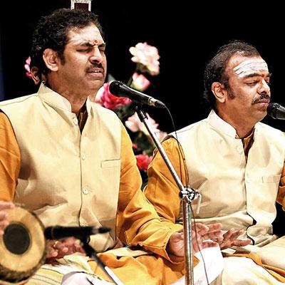 MUDHRA presents 24th FINE ARTS FESTIVAL on 20-12-2018 performing Malladi Brothers  Sriram Prasad and Ravikumar  - Vocal Duet  S.Varadarajan - Violin Tumkur Ravishankar - Mridangam Udupi Sridhar  - Ghatam 6.15 pm. Infosys Hall, Ramakrishna Mission School Campus, 31, Krishna Street, T.Nagar, Chennai - 600 017(opp. to Joyalukkas and adjacent to Shah showroom)