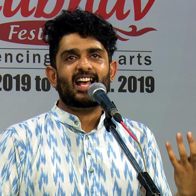 MUDHRA presents 25th FINE ARTS FESTIVAL on 15-12-2019 performing on 6.15 PM    Sid Sriram - Vocal H.N.Bhaskar - Violin Patri Satish Kumar - Mridangam Giridhar Udupa - Ghatam Bangalore Rajasekar - Moharsing  Tickets Type Rates               Row Rs.200              M, N, O, P, Q Rs.500              H, I,J Rs.1000            E, F Rs.1500            A