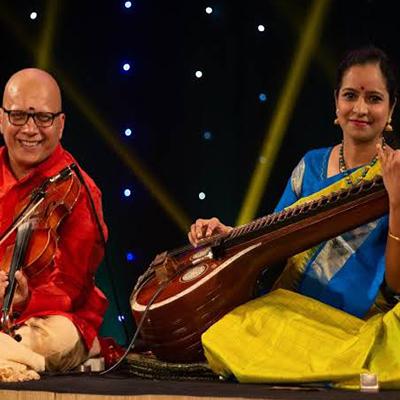"MUDHRA presents 25th FINE ARTS FESTIVAL on 21-12-19 performing on  6.15 PM    ""Strings Attached"" - Dr.Jayanthi (Veena) & Kumaresh (Violin)                   B. Harikumar - Mridangam                   Trichy Krishnaswamy  - Ghatam    Tickets Type Rates                Row Rs.150              M, N, O, P, Q Rs.300              H, I,J Rs.500              E, F Rs.1000            A"