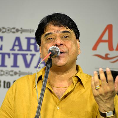 MUDHRA presents 25th FINE ARTS FESTIVAL on 25-12-19 performing on  6.15 PM   O.S.Arun - Bhajans                  Karaikkal Venkatasubramaniam - Violin                 B.Ganapathy Raman - Mridangam                 Martin - Tabla                 B.Srikrishnan - Harmonium                 A.Selvam - Talam  Tickets Type Rates                Row Rs.150              M, N, O, P, Q Rs.300              H, I,J Rs.500              E, F Rs.1000            A