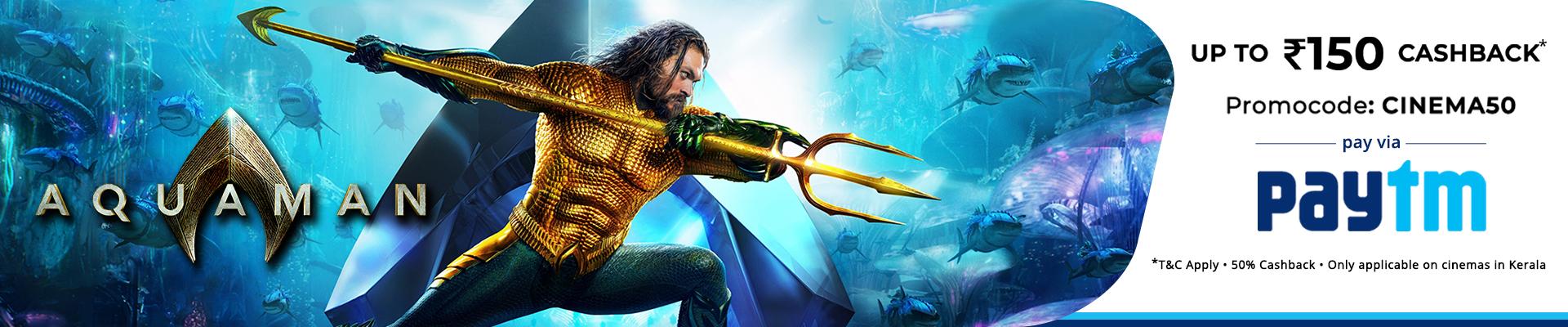 Aquaman banner(kerala)